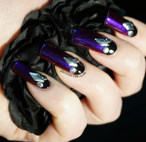 CrowsToes Indian Summer Nail Art